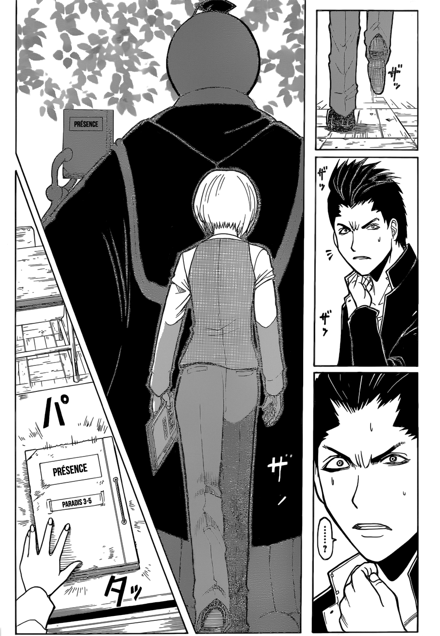 Lecture en ligne Assassination Classroom 180 page 22
