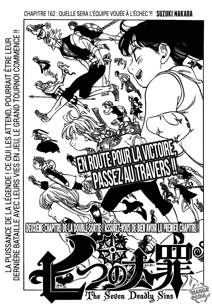 Lecture en ligne The Seven Deadly Sins 162 page 1