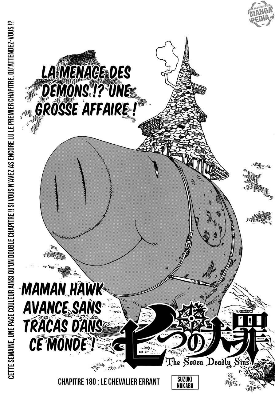 Lecture en ligne The Seven Deadly Sins 180 page 1