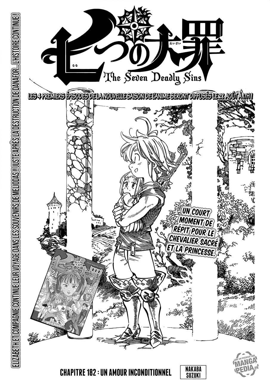 Lecture en ligne The Seven Deadly Sins 182 page 1
