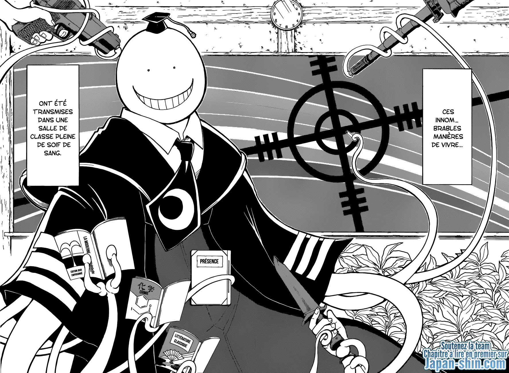 Lecture en ligne Assassination Classroom 180 page 12