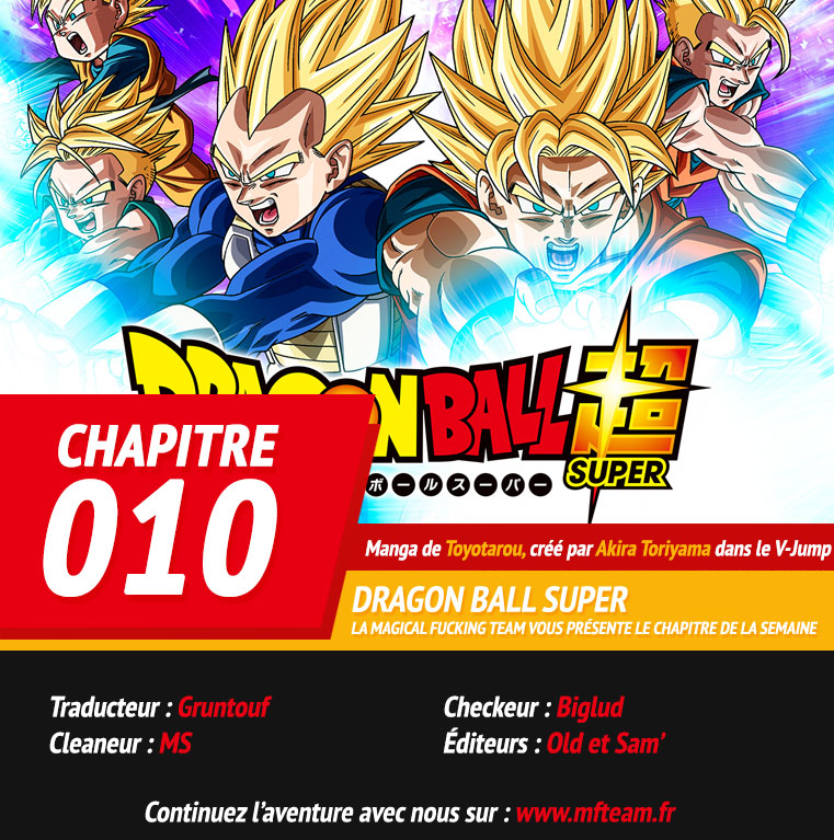 Lecture en ligne Dragon Ball Super 10 page 1