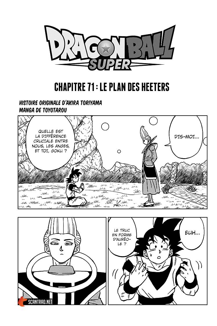 Lecture en ligne Dragon Ball Super 71 page 1