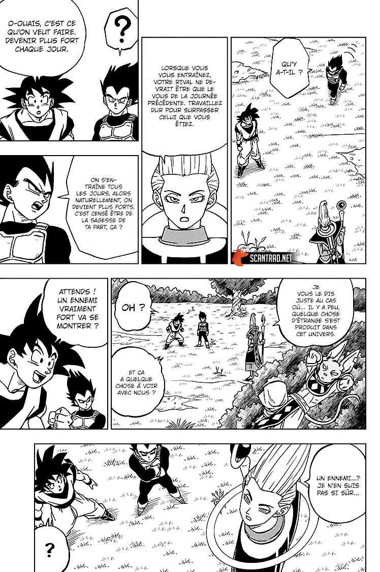 Lecture en ligne Dragon Ball Super 71 page 7