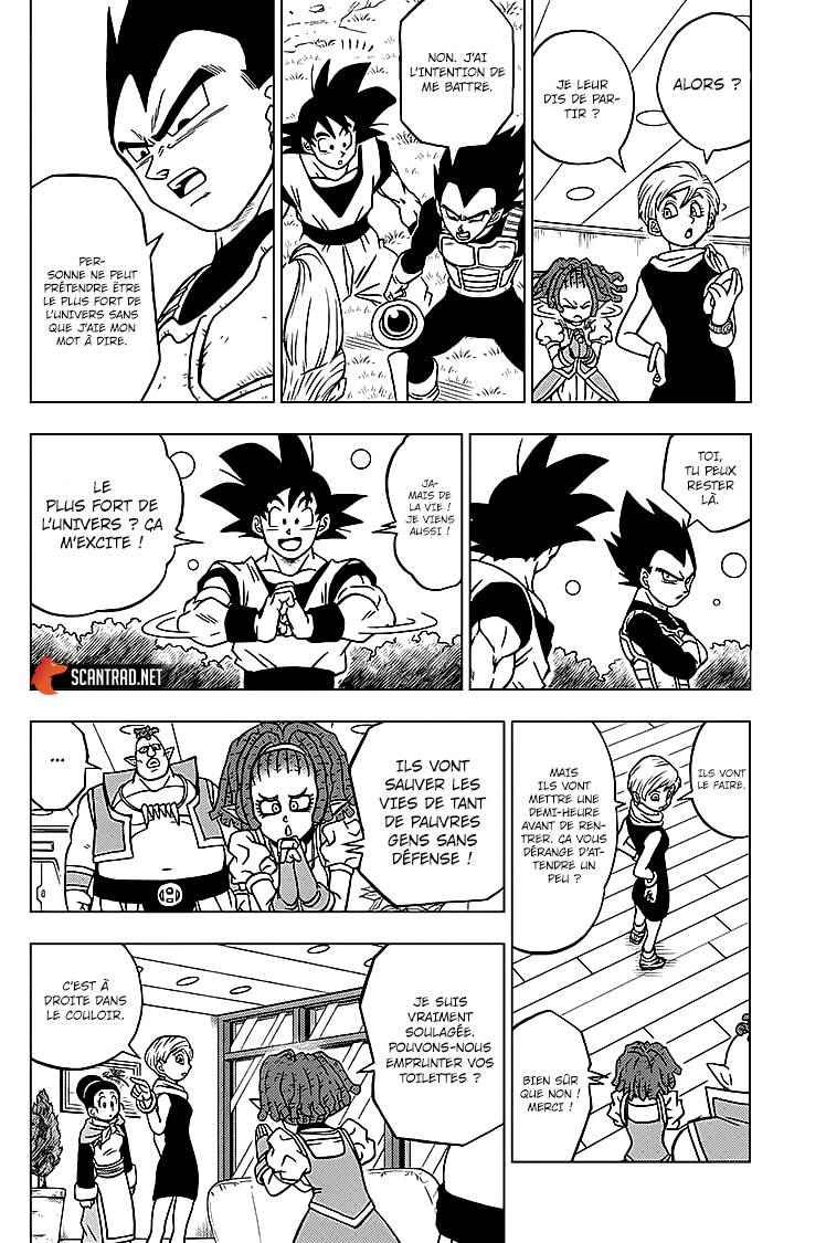 Lecture en ligne Dragon Ball Super 71 page 28