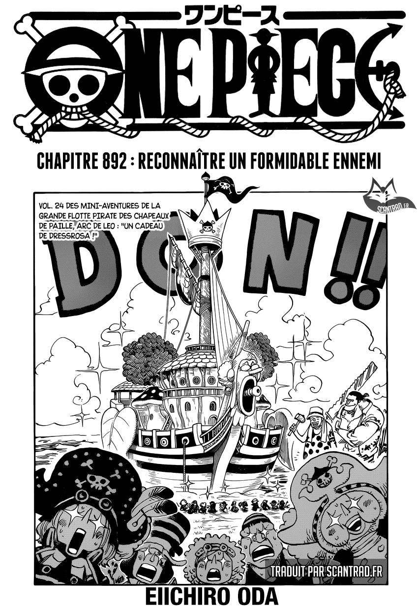 Scan One Piece 892