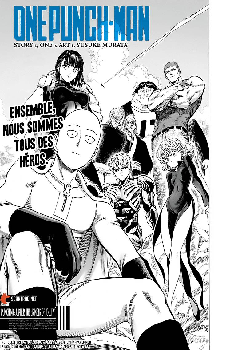 Lecture en ligne One Punch Man 143 page 1