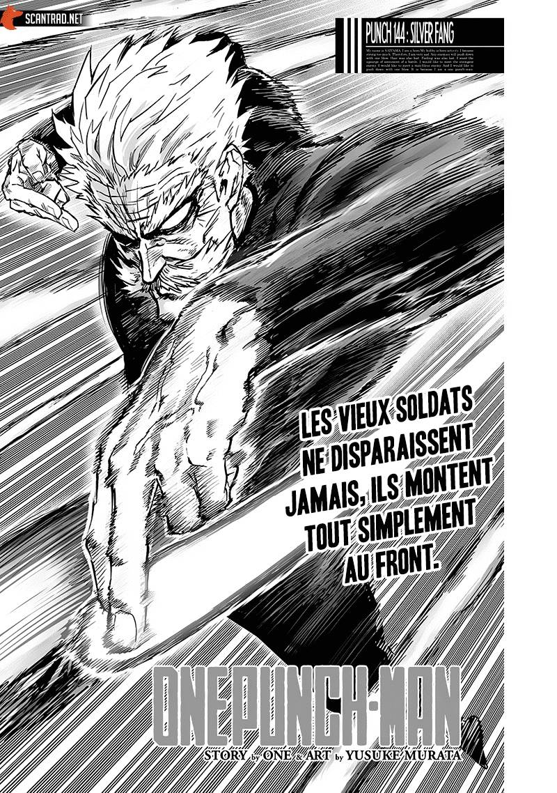Lecture en ligne One Punch Man 144 page 1